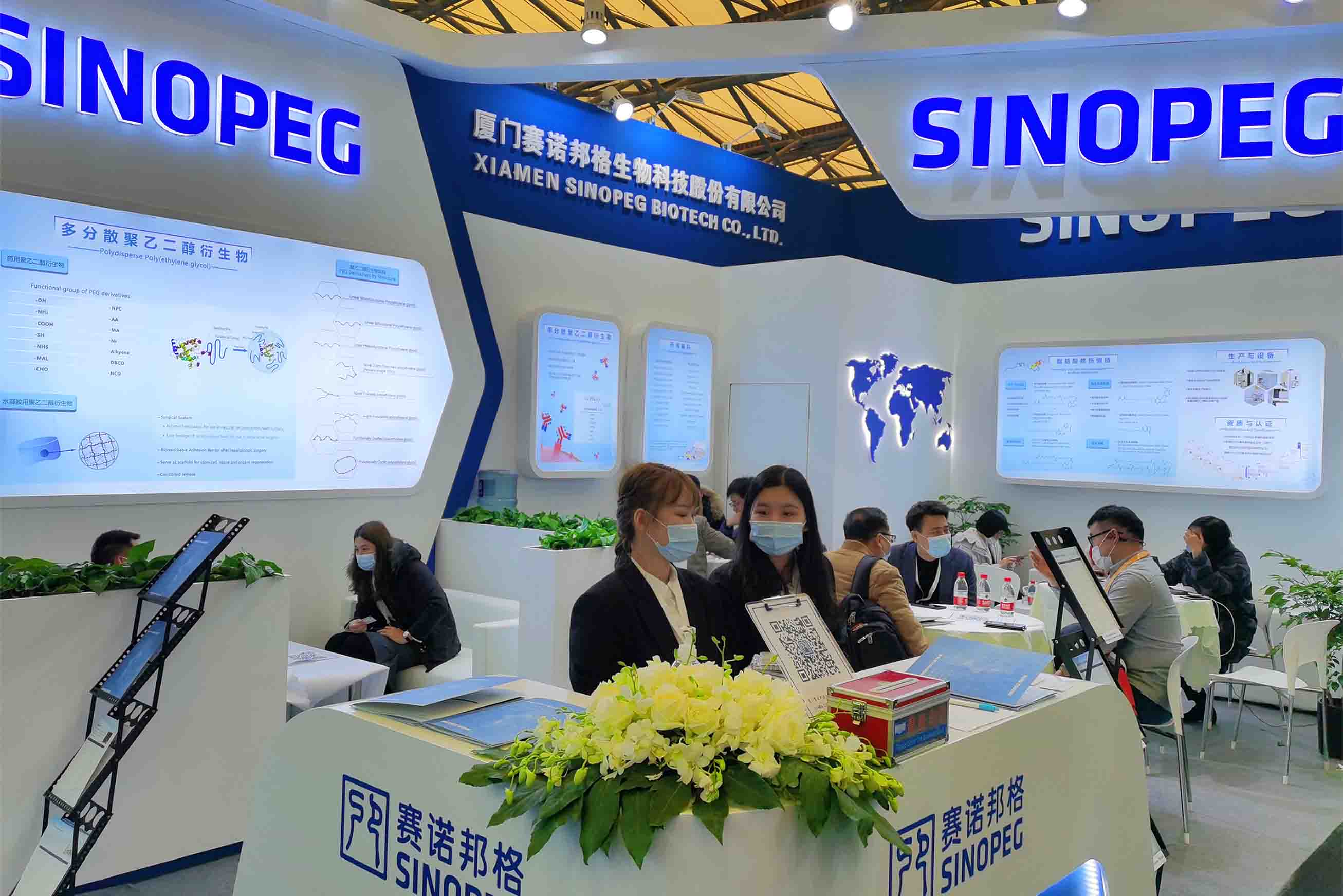 SINOPEG Gained Substantial Achievement in CPhI China 2020