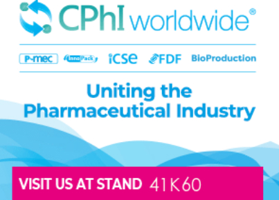 Visit SINOPEG at 2019 CPhI Worldwide, Germany